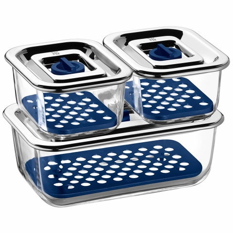 Bộ 3 hộp thủy tinh đựng thực phẩm WMF Top Serve-Thế giới đồ gia