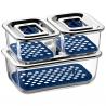 Bộ 3 hộp thủy tinh đựng thực phẩm WMF Top Serve