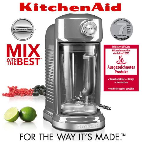 Máy xay sinh tố KitchenAid 5KSB5080EMS, công suất 1300W, màu