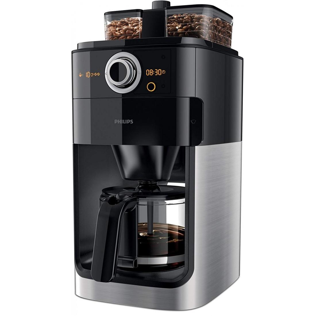 Máy pha Cafe dạng hạt hoặc xay sẵn Philips HD 7769/00-Thế giới