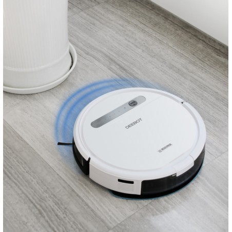Robot hút bụi lau nhà Ecovacs DD35 - Deebot Ozmo 600-Thế giới