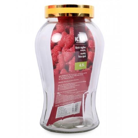 Bình ngâm rượu - nước hoa quả Kova 4.5L-Thế giới đồ gia dụng HMD