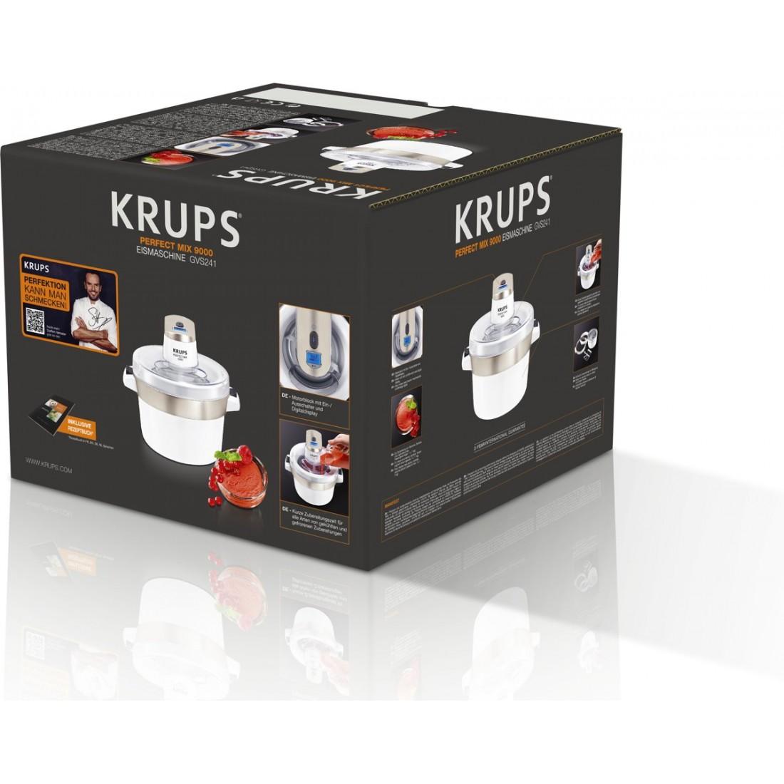 Máy làm kem Krups GVS241 Perfect Mix 9000-Thế giới đồ gia dụng