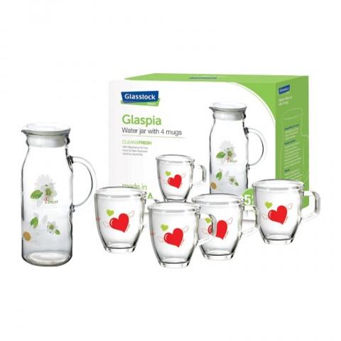 Bộ bình nước Glasslock CG982-Thế giới đồ gia dụng HMD