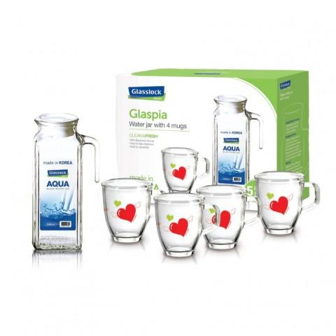 Bộ bình nước Glasslock-CG981-Thế giới đồ gia dụng HMD