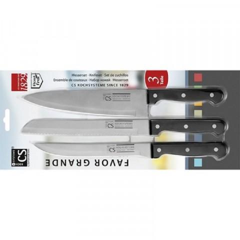Bộ dao CS chuyên dụng 3 cái - favor-Thế giới đồ gia dụng HMD