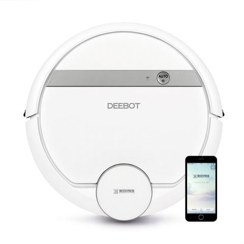 Robot hút bụi Ecovacs Deebot 900 DE5G-Thế giới đồ gia dụng HMD