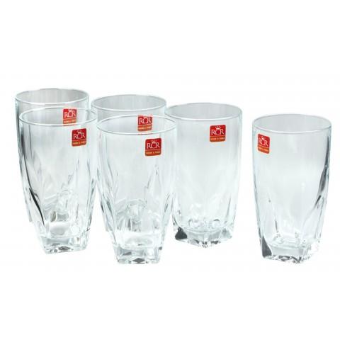 Bộ 6 cốc uống nước RCR Diamante-Thế giới đồ gia dụng HMD