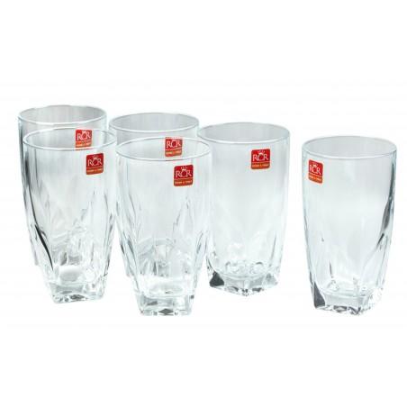 Bộ 6 cốc uống nước RCR Diamante