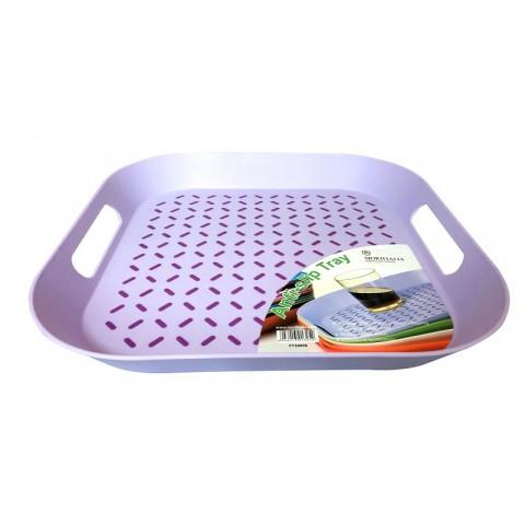Khay nhựa moriitalia FY30006 màu tím-Thế giới đồ gia dụng HMD
