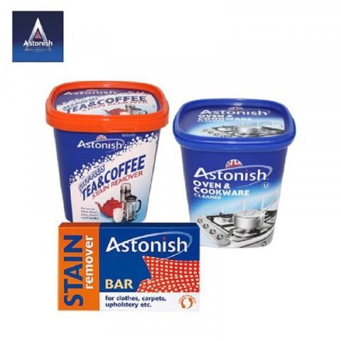 Bộ sản phẩm tẩy rửa Astonish 3 món-Thế giới đồ gia dụng HMD
