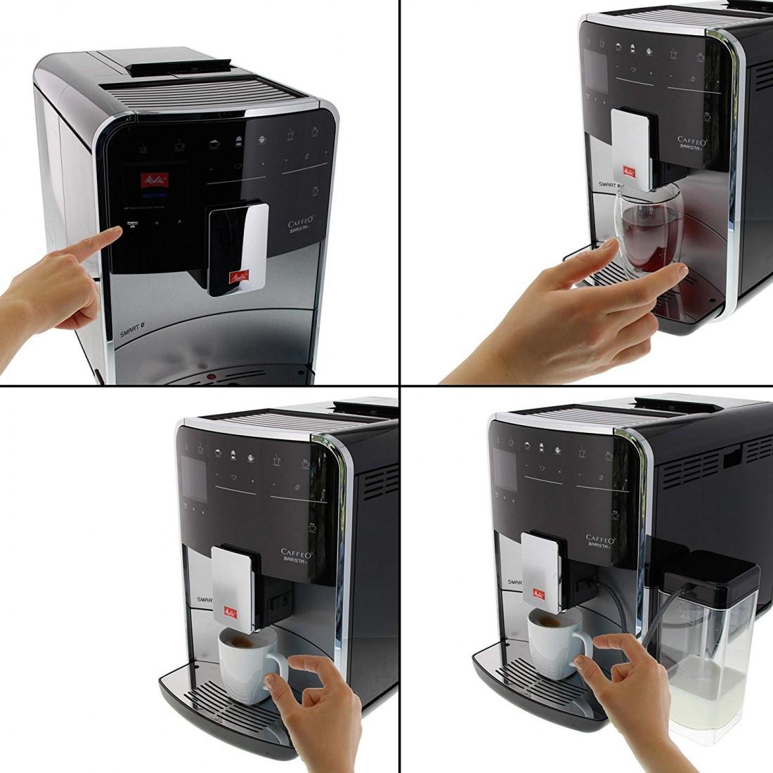 Máy pha cafe tự động, điều khiển điện thoại thông minh Melitta