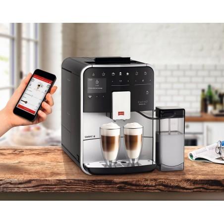 Máy pha cafe tự động Melitta Caffeo Barista T Smart F830-101,điều khiển điện thoại thông minh