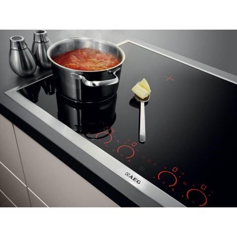 Bếp từ 4 vùng nấu AEG HK973500FB, cảm ứng điện tử trực tiếp-Thế