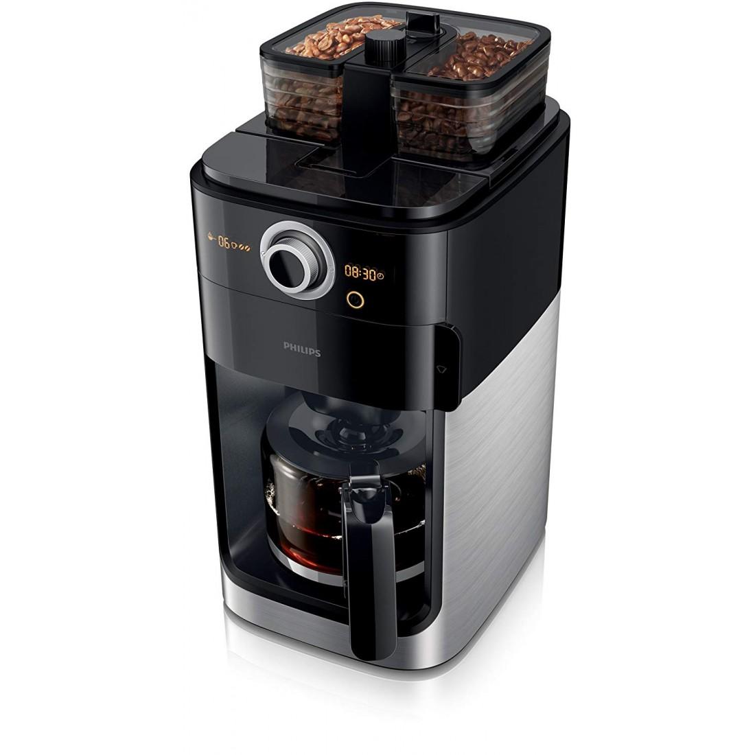 Máy pha Cafe dạng hạt hoặc xay sẵn Philips HD 7767/00-Thế giới