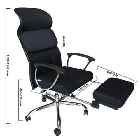 Ghế giám đốc S505-Thế giới đồ gia dụng HMD