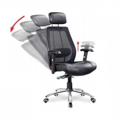 Ghế lưới lãnh đạo GL309-Thế giới đồ gia dụng HMD