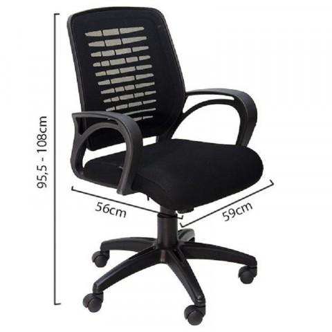 Ghế lưới nhân viên GL109-Thế giới đồ gia dụng HMD