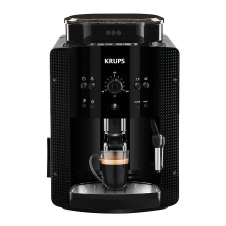 Máy pha cafe tự động Krups EA81M870, màn hình LCD, vòi phun sữa