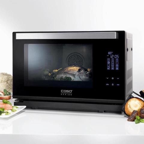 Lò nướng kiêm lò hấp 2 trong 1 Caso 3066 Steam Chef-Thế giới đồ