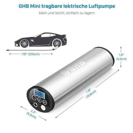Bơm Mini điện tử GHB-Thế giới đồ gia dụng HMD
