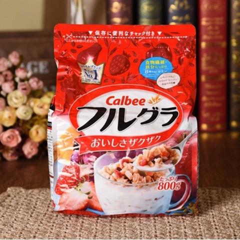 Ngũ cốc sấy khô Calbee Nhật Bản 800g-Thế giới đồ gia dụng HMD