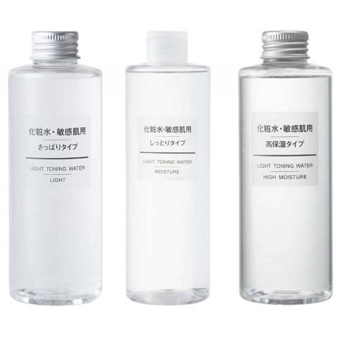 Nước hoa hồng dưỡng ẩm Muji Light Toning Water (cho da khô và