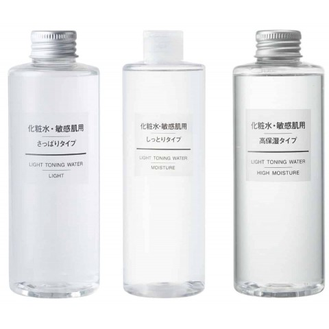 Nước hoa hồng dưỡng ẩm Muji Light Toning Water (cho da dầu)-Thế
