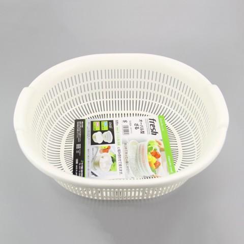 Rổ nhựa 5.3L màu trắng-Thế giới đồ gia dụng HMD