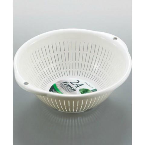 Rổ nhựa 3.6L màu trắng-Thế giới đồ gia dụng HMD