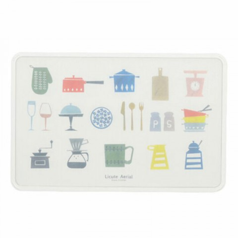Thớt nhựa cao cấp mẫu họa tiết nhà bếp-Thế giới đồ gia dụng HMD