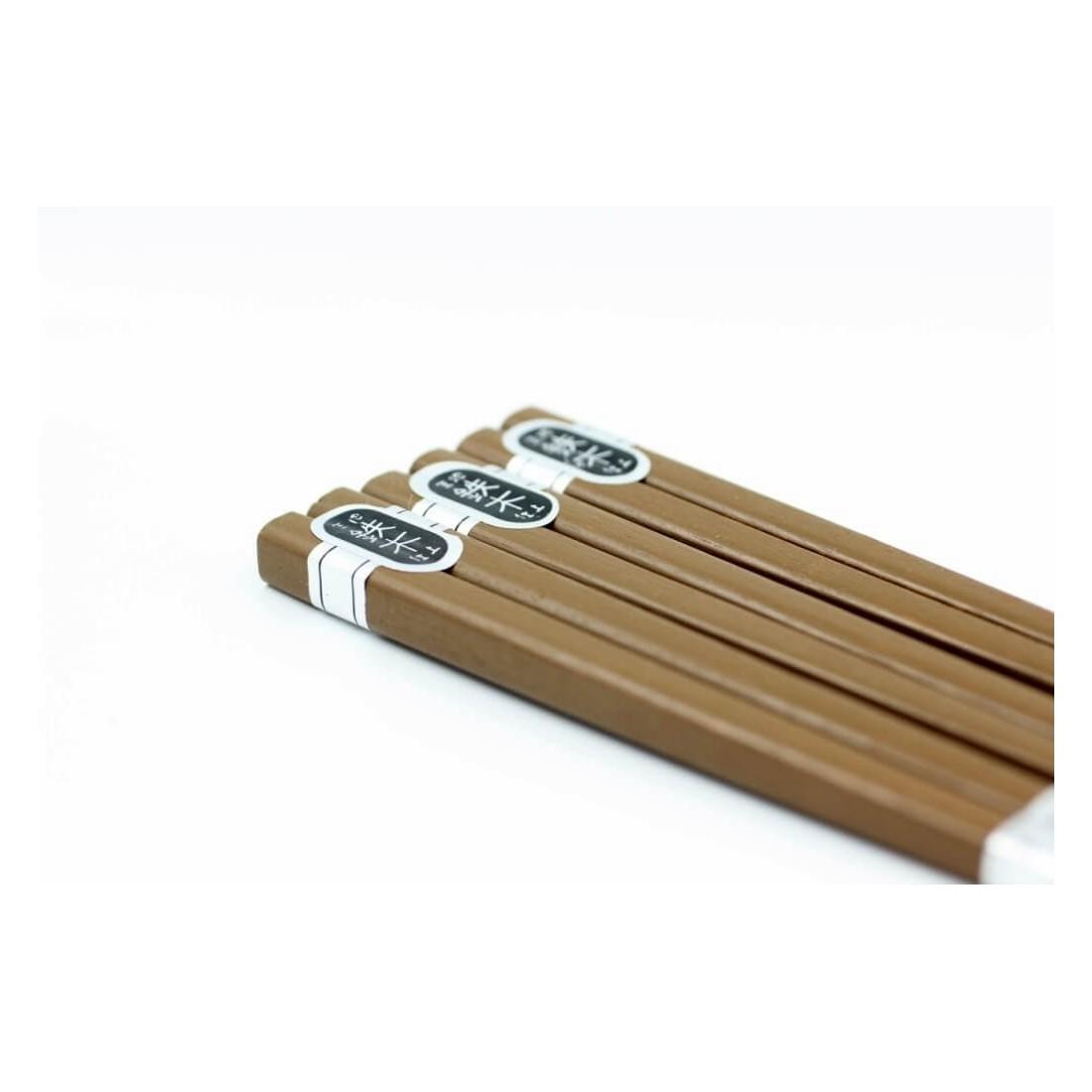 Set 3 đôi đũa gỗ 22,5cm (loại dày)-Thế giới đồ gia dụng HMD