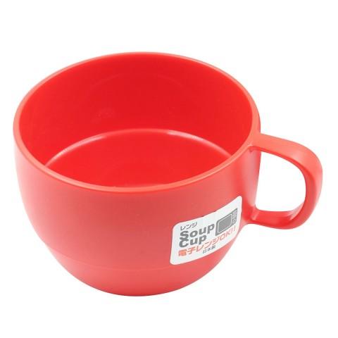 Cốc súp màu đỏ Inomata-Thế giới đồ gia dụng HMD