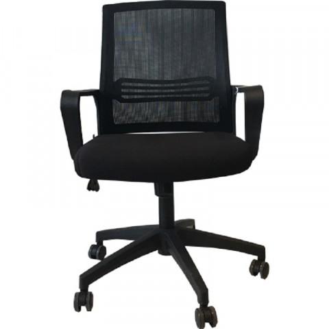 Ghế lưới văn phòng B611 đen-Thế giới đồ gia dụng HMD