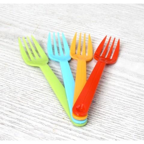 Set 4 dĩa nhựa màu sắc kèm hộp-Thế giới đồ gia dụng HMD
