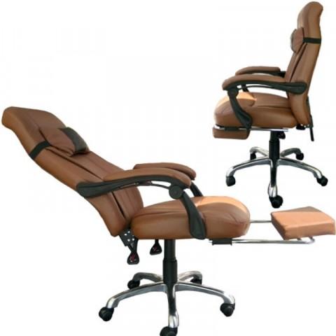 Ghế ngả văn phòng S206-Thế giới đồ gia dụng HMD