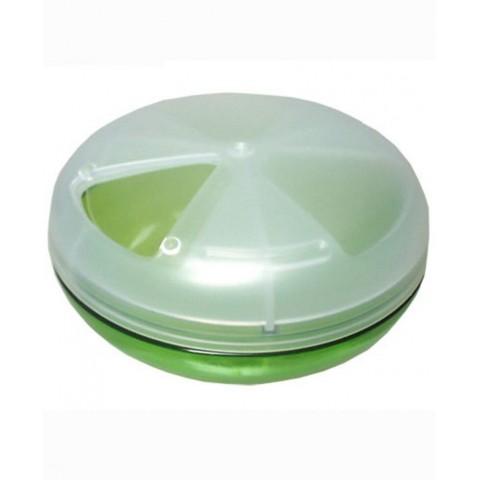 Hộp đựng thuốc loại tròn màu xanh-Thế giới đồ gia dụng HMD