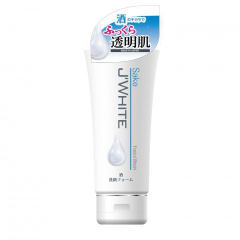Sữa rửa mặt J'WHITE tinh chất Rượu SaKe-Thế giới đồ gia dụng HMD
