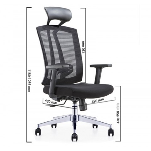 ghế lãnh đạo CH163A-Thế giới đồ gia dụng HMD