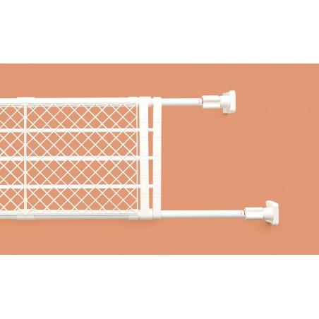 Kệ chia ngăn không cần khoan vít Heian, 73cm kéo dài 112cm