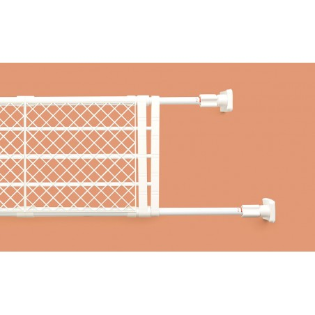 Kệ chia ngăn không cần khoan vít Heian, 108cm kéo dài 147cm