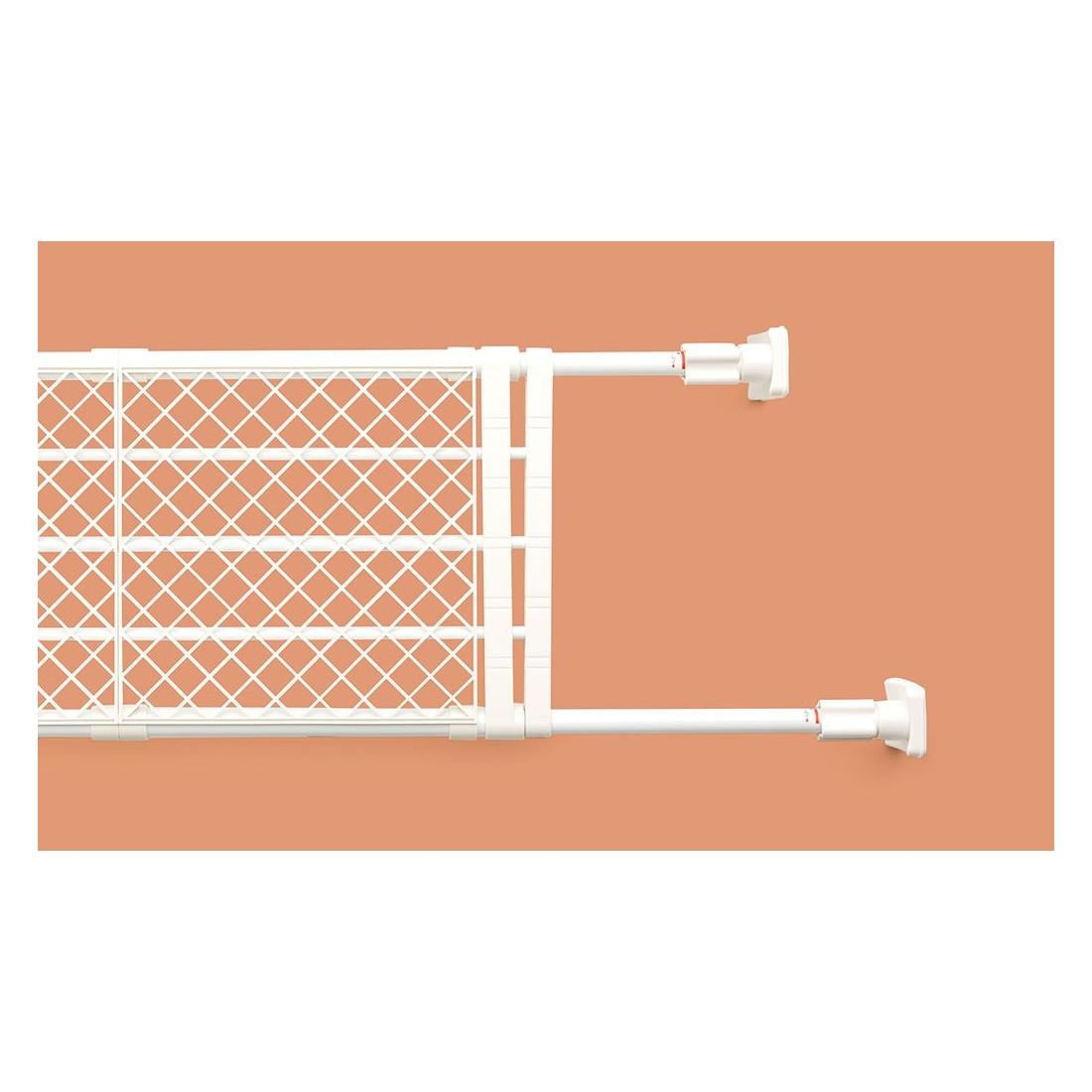Kệ chia ngăn không cần khoan vít Heian, 35cm kéo dài 48cm