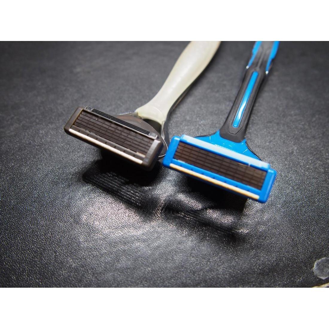 Dao cạo 5 lưỡi kép KAI (1 thân, 1 lưỡi)-Thế giới đồ gia dụng HMD