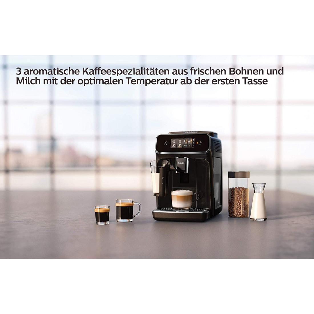 Máy pha cà phê hoàn toàn tự động Philips Series 2200 EP2231/40
