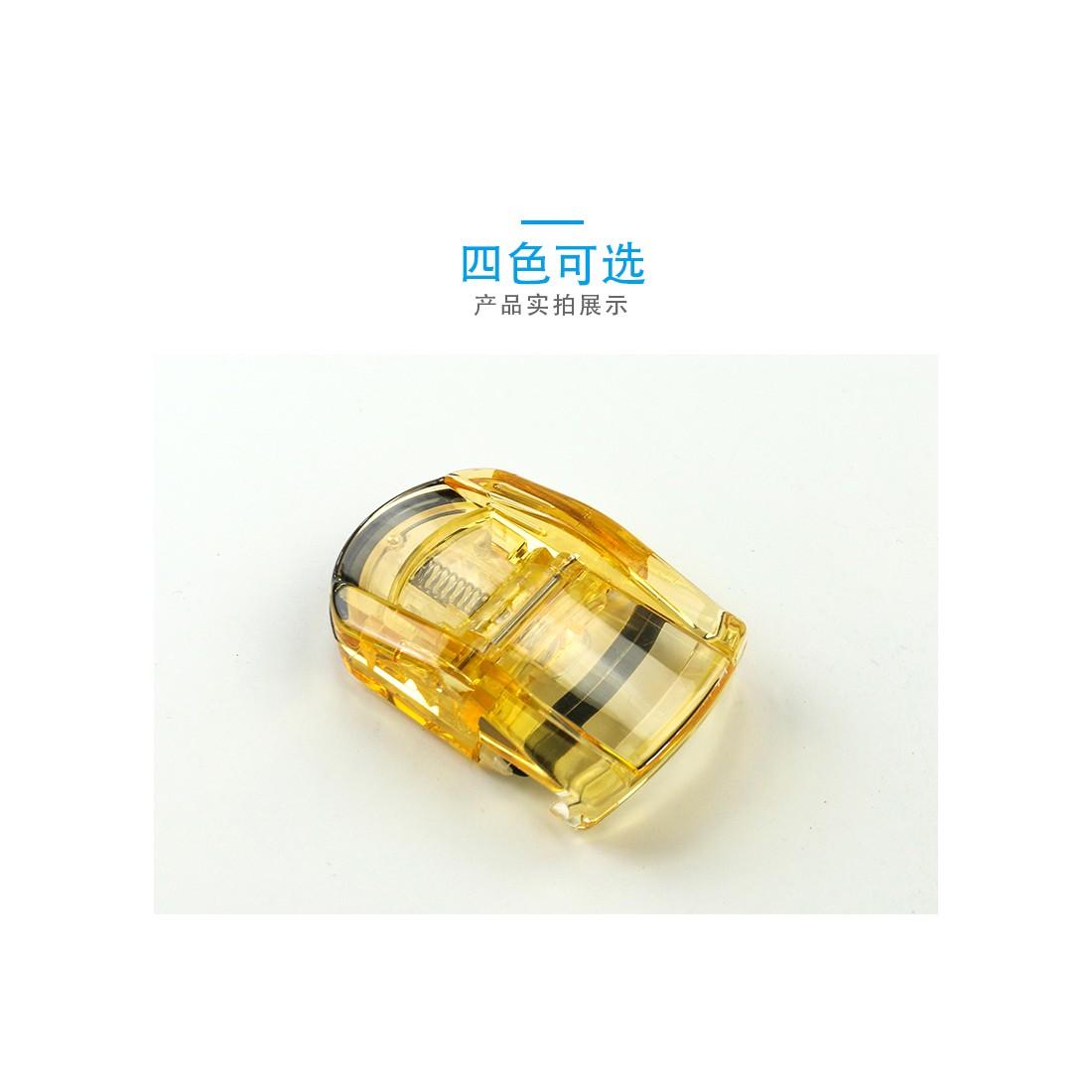 Uốn mi cong thân nhựa KAI (màu vàng)-Thế giới đồ gia dụng HMD