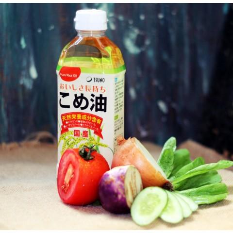Dầu gạo cao cấp Tsuno Nhật Bản 500gr- thegioidogiadung.com.vn