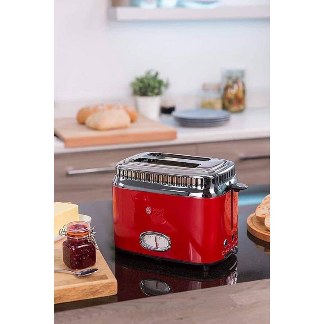 Máy nướng bánh mì Russell Hobbs Toaster Retro-