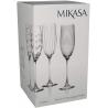 Bộ 4 ly pha lê Mikasa Champagner 250 ml
