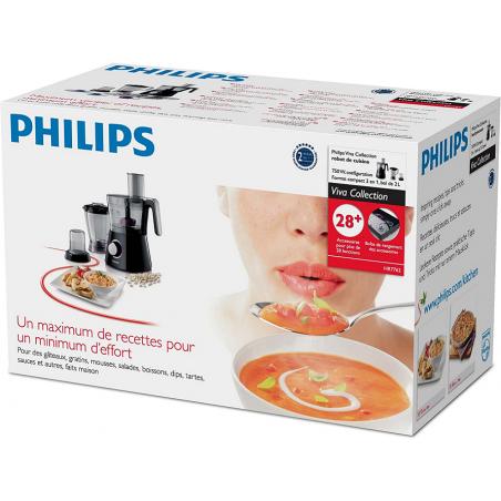 Máy xay làm bếp đa năng Philips HR7762/90 Viva Collection-