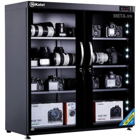 Tủ chống ẩm cao cấp Nikatei NC-250S ( 235 lít )-